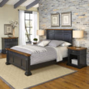 Bransford Bed, 2 Nightstands and Chest