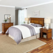 Lexington Headboard, 2 Nightstands and Chest