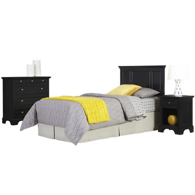 Rockbridge Twin Headboard, Nightstand and Chest