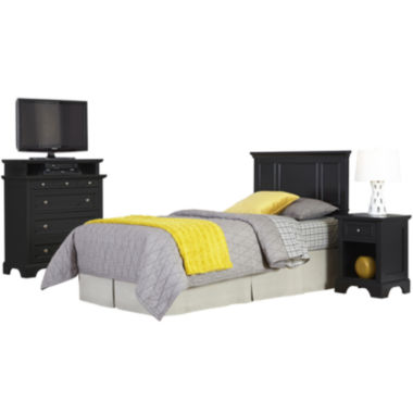 jcpenney.com | Rockbridge Twin Headboard, Nightstand and Media Chest