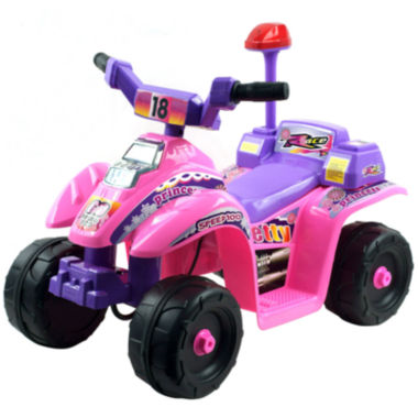 jcpenney.com | Lil' Rider Pink and Purple Princess 4-Wheel Ride-On Mini ATV