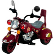 Lil' Rider 3-Wheeler Maroon Marauder Ride-On Motorcycle