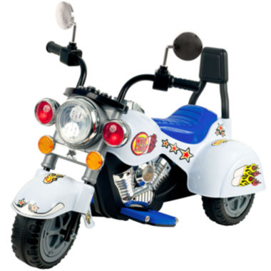 jcpenney.com | Lil' Rider 3-Wheeler White Ride-On Marauder Motorcycle