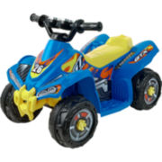 Lil' Rider Battery-Operated Ride-On Blue Bandit GT Sport ATV