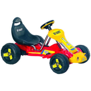 jcpenney.com | Lil' Rider Red Racer Ride-On Battery-Powered Go-Kart