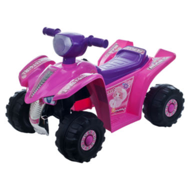 jcpenney.com | Lil' Rider Pink Princess Mini-Quad Ride-On 4-Wheeler