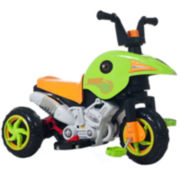 Lil' Rider Gemini Dual-Action Battery and Pedal Power Ride-On Trike