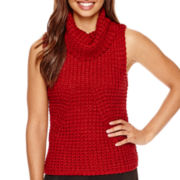 BELLE + SKY™ Sleeveless Cowlneck Sweater