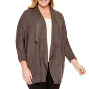 Worthington® Cocoon Cardigan Sweater - Plus