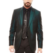JF J. Ferrar® Peak Lapel Shimmer Jacket - Slim Fit