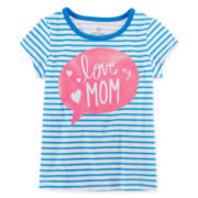 Okie Dokie® Graphic Tee - Toddler Girls 2t-5t