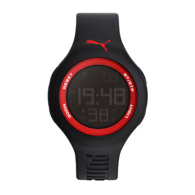 jcpenney.com | Puma Unisex Black Strap Watch-Pu910801046