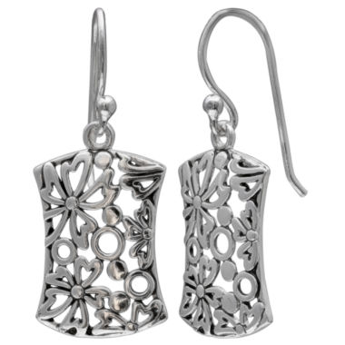 jcpenney.com | Silver Treasures Drop Earrings