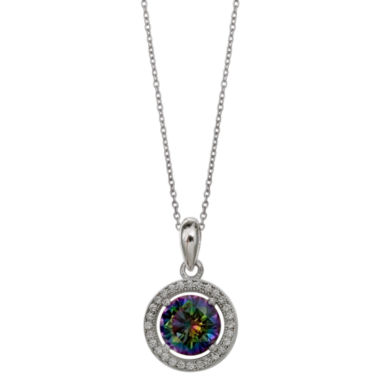 jcpenney.com | Silver Enchantment Womens Cubic Zirconia Sterling Silver Pendant Necklace