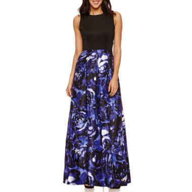jcpenney.com | Ombre Sleeveless Shantung Skirt Evening Gowns-Petites