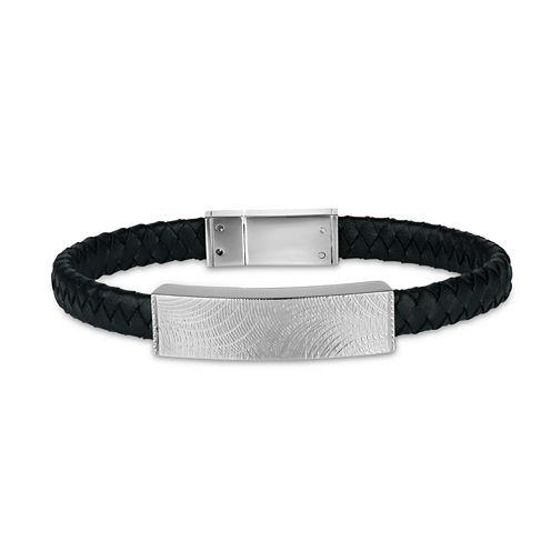 Mens Stainless Steel Id Bracelet