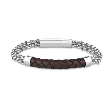 jcpenney.com | Mens 8.5 Inch Stainless Steel Link Bracelet