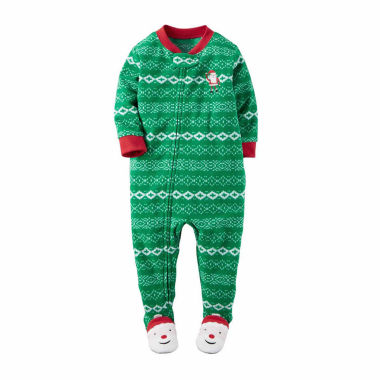 jcpenney.com | Carter's Boys Long Sleeve Footed Pajamas-Toddler