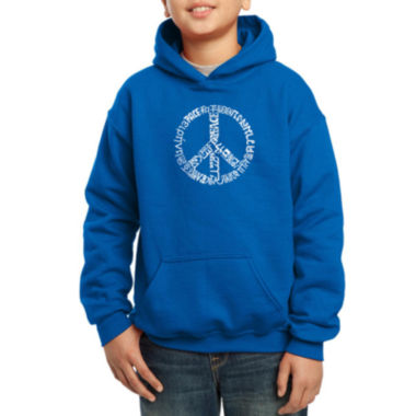 jcpenney.com | Los Angeles Pop Art The Word Peace In 20 Different Languages Boys Hoodie