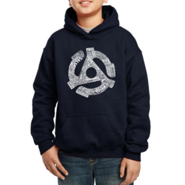 jcpenney.com | Los Angeles Pop Art 63 Different Genres Of Music Hoodie Boys