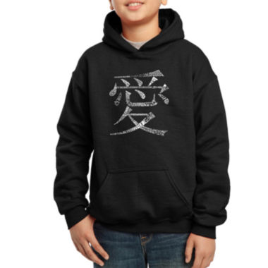 jcpenney.com | Los Angeles Pop Art The Word Love In 44 Different Languages Hoodie Boys
