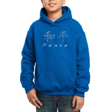 jcpenney.com | Los Angeles Pop Art The Word Peace In 77 Languages Hoodie Boys