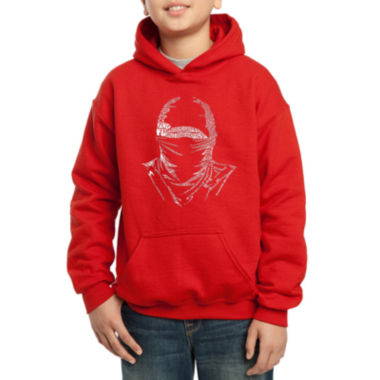 jcpenney.com | Los Angeles Pop Art Different Styles Of Martial Arts Hoodie-Big Kid Boys