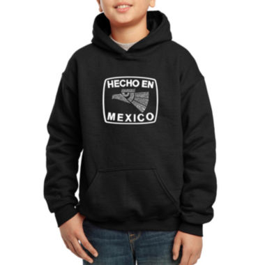 jcpenney.com | Los Angeles Pop Art All The States In Mexico Hoodie Boys