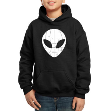 jcpenney.com | Los Angeles Pop Art Alien Face The Words I Come In Peace Hoodie-Big Kid Boys
