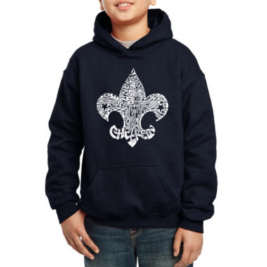 jcpenney.com | Los Angeles Pop Art Fleur De Lis From 12 Points Of Scout Law Hoodie-Big Kid Boys