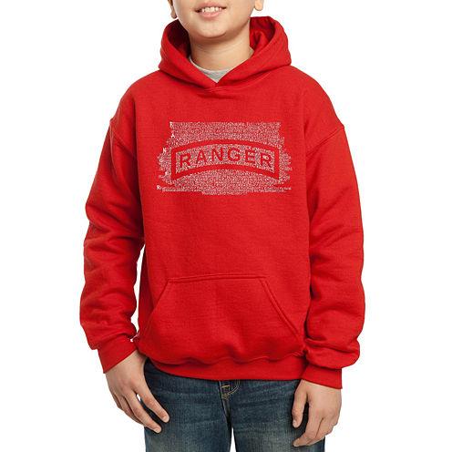Los Angeles Pop Art The Ranger Creed Hoodie-Big Kid Boys