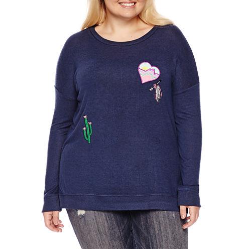 Arizona Cozy Sweatshirt- Juniors Plus