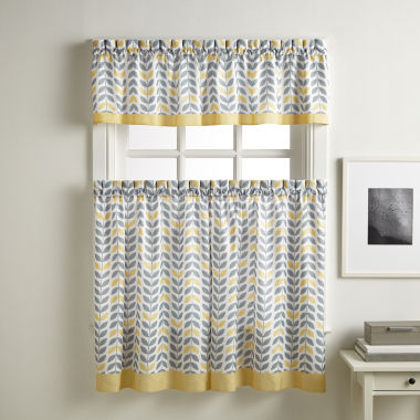 jcpenney.com | Savannah Rod-Pocket Kitchen Curtains