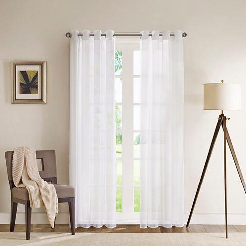 Clarion Sheer Grommet-Top Curtain Panel