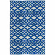 Kaleen Kaleen Brisa Scroll Positive Rectangle Accent Rug
