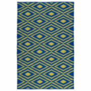 Kaleen Kaleen Brisa Ikat Positive Rectangle Accent Rug