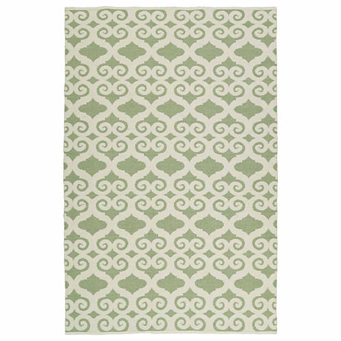 Kaleen Brisa Scroll Negative Rectangular Rugs