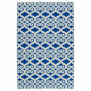 Kaleen Kaleen Brisa Scroll Negative Rectangle Accent Rug