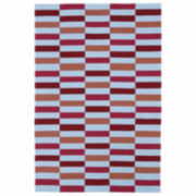 Kaleen Kaleen Matira Stripe Rug Hand Tufted Rectangle Accent Rug