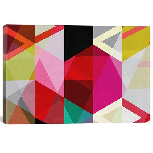 View Through A Kaleidoscope Wall Art