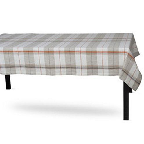 Tag Sienna Plaid Tablecloth