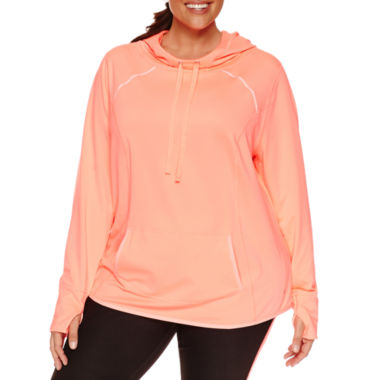 jcpenney.com | Xersion Long Sleeve Knit Hoodie Plus