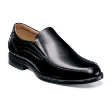 jcpenney.com | Florsheim® Center Mens Leather Moc-Toe Slip-On Dress Shoes