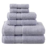 Liz Claiborne® MicroCotton® 6-pc. Bath Towel Set