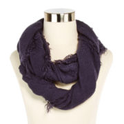 Cashmere-Like Solid Loop Scarf