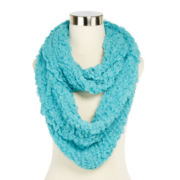 Mini Tufted Bubble Infinity Scarf