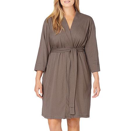 Jockey Knit Robe - Plus