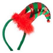 Sequin Elf Hat Christmas Costume Headband