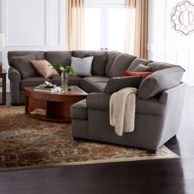 jcpenney.com | Fabric Possibilities Roll-Arm 3-pc. Left-Arm Corner Sofa Sectional