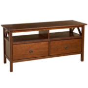 Titian TV Stand in Antique Tobacco